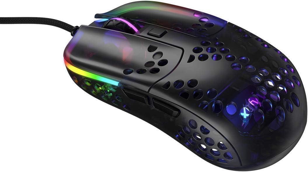 Amazon.com: Xtrfy MZ1 - Zy's Rail, Light Weight Gaming Mouse Designed by Rocket Jump Ninja: Electronics