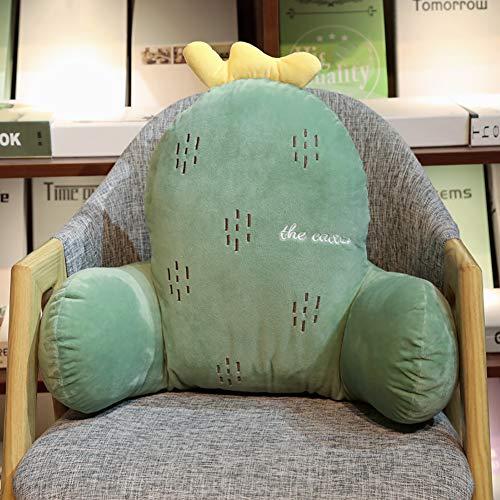 YZJJ Rückenkissen mit Armlehne, Lesekissen, waschbar, Dreieckskissen als Rückenstützkissen – ergonomisch Sitzen beim Lesen, Fernsehen