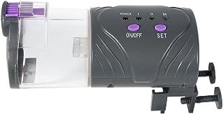 Haofy Alimentador Automático de Peces Dispensador de Comida con Temporizador para Acuario Pescado