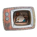 Baoblaze Casa de Gato corrugada, Juguete para rascar, casa de Juegos, casa de cartón para Gatos, para Gatitos, Muebles para Exteriores, sofá, Perro, Gato - televisor