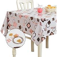 Maydo 54x60 Inch Rectangle Waterproof PVC Tablecloth