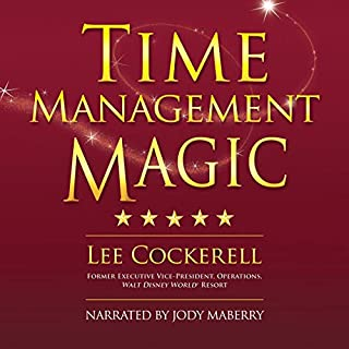 Time Management Magic audiobook cover art