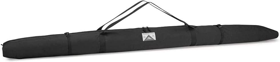 High Sierra Double Ski Bag for 2 Pairs of Nordic Skis- Black