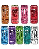Monster Energy Sampler Pack, Sugar Free Energy Drink, 9 Flavor Variety Pack, 16 Ounce (9 Pack)