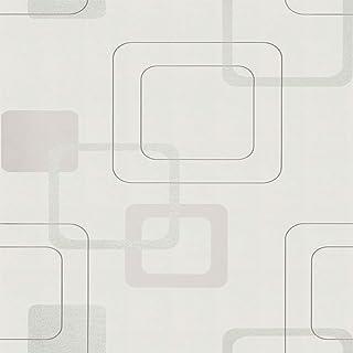 ورق حائط Fujikawa صلب من الفينيل بني فاتح 53 × 1000 سم