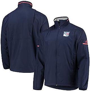 adidas New York Rangers NHL Men`s Penalty Box Full Zip Rink Jacket