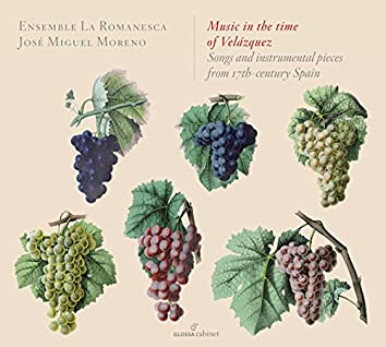 Music in the Time of Velázquez: Songs & Instrumental Pieces from 17th-Century Spain