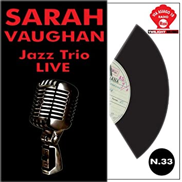 Sarah Vaughan & Jazz trio  live