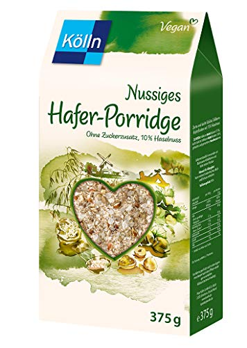 Kölln Nussiges Hafer-Porridge, 6er Pack (6 x 375g)