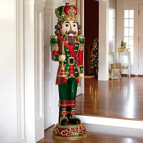 Nutcracker Classic Wood-Look Life-Size 6' Christmas Holiday