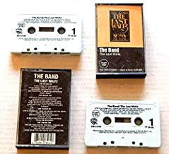 The Band The Last Waltz - Warner Brothers Records 1978 - A Used Double Audio Cassette Album Not A CD - Very Rare - 30 Songs from Neil Young + Eric Clapton + Bob Dylan + Van Morrison + Neil Diamond + Muddy Waters