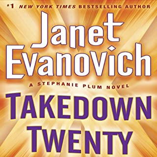 Takedown Twenty     A Stephanie Plum Novel              By:                                                                                                                                 Janet Evanovich                               Narrated by:                                                                                                                                 Lorelei King                      Length: 6 hrs and 8 mins     3,058 ratings     Overall 4.4