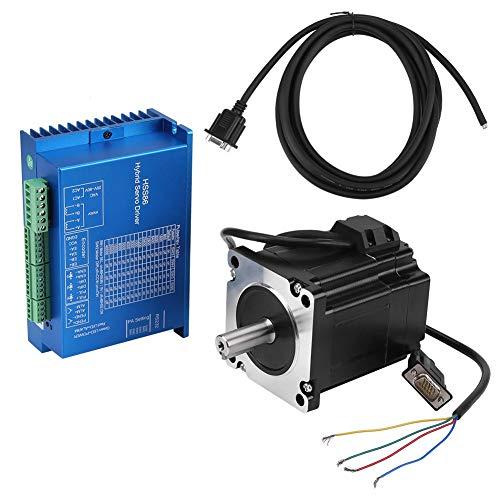 Nema 34 moteur pas à pas pilote automatique de servomoteur de contrôle de courant AC 20-80 V 32 micropas pour imprimante 3D pour machine d'impression pour machine à papier