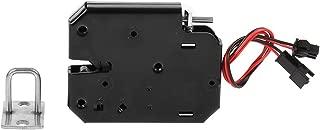 DC 12V Cerradura Eléctrica Cajón del gabinete Cerradura magnética eléctrica Electromagnet a prueba de fallas para Sistema de Control Acceso Entrada de Puerta (con interruptor de detección)