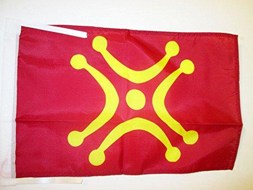 AZ FLAG Bandera de CANTABRIA INDEPENDENTISTA 45x30cm - BANDERINA REGIONALISMO CÁNTABRO - CANTABRISMO 30 x 45 cm cordeles
