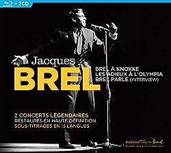 Jacques Brel En concert [2 CD + 1 Blu-Ray]