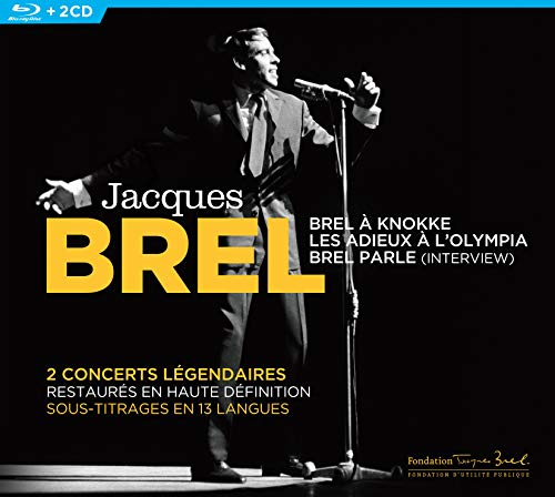 Jacques Brel En concert [2 CD + 1 Blu-Ray]