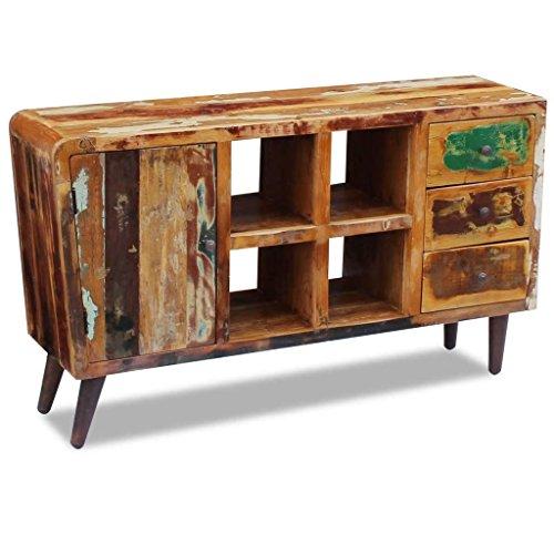 XingliEU dressoir van massief hout 150 x 40 x 86 cm. Dit product is zeer robuust en duurzaam, uniek en elegant design.