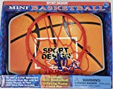 Sport design Mini Basketball Hoop with Inflatable Basketball, Inflating Pump & Pin