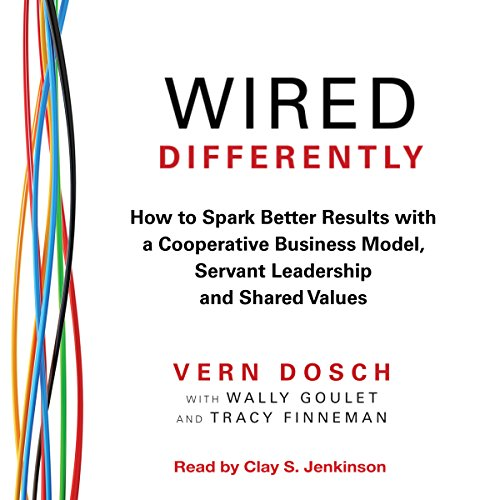 Wired Differently audiobook cover art