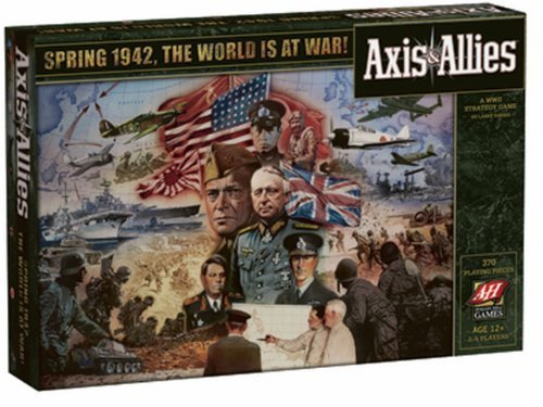 Axis & Allies 1942 by Avalon Hill [Toy]