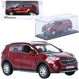 Pino B&D 1:38 KIA THE SUV SPORTAGE Fiery Red Display Mini Car Miniature Car