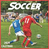 Soccer Calendar 2022: 2021-2022 Soccer Weekly & Monthly Planner | 2-Year Pocket Calendar | 19 Months | Organizer | Agenda | Appointment | For Soccer Lovers