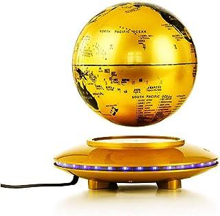 WSJTT Magnetic Levitation Floating Globe,6'' Self-Rotating Ball Anti Gravity World Map Earth for Desk Office Home Decor Ki...