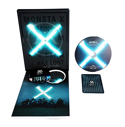 MONSTA X 3rd Mini Album - The CLAN 2.5 Part.1 Lost [ LOST VER. ] CD + Photobook + Photocard + FREE GIFT/K-pop Sealed