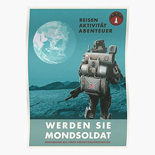 Hardymedicalsupplies Game New Moon Retro Ii Wolfenstein Fps The Gaming Propaganda Colossus Home Decor Wandkunst drucken Poster !