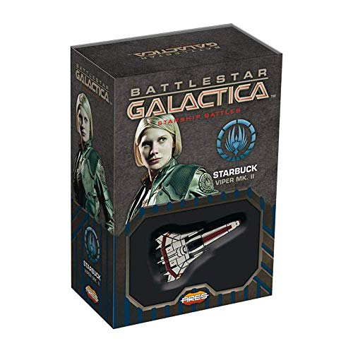 Ares Games Battleship Galactica Starship Battles: Spaceship Pack Starbuck's Viper MK. II - English