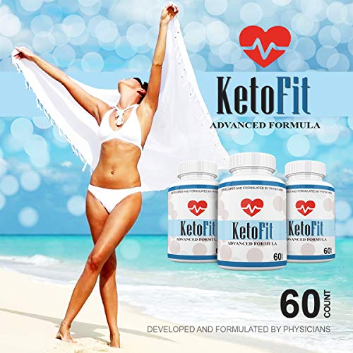 Keto Fit Advanced Formula - Ketosis Weight Loss Support - 120 Capsules - 3 Month Supply - KetoFIT 6