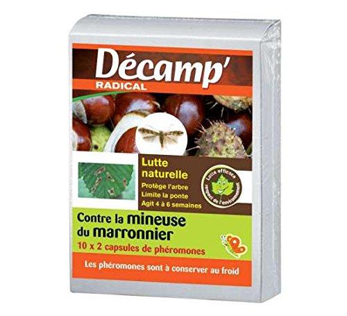 Phéromone contre la mineuse du marronnier - Boite de 20 capsules