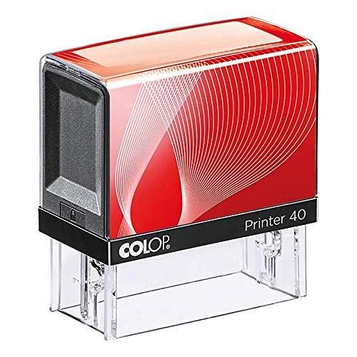 Colop Printer 40 23 x 59mm Negro sello - sellos (Negro)
