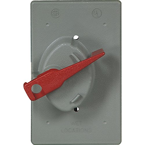 Cooper Wiring Devices Eagle- GRAY Weather Prtective Covers for Toggle Switch