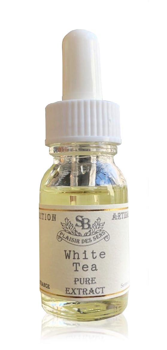 ベイビーセンブランス価値のないSenteur et Beaute(サンタール?エ?ボーテ) アロマティックエッセンス 「ホワイトティー」15ml ルームフレグランス