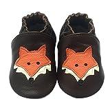 LSERVER- Zapatos de cuero suave para bebés Zapatos de Bebé para...