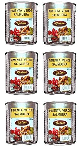 Galant - Pimienta verde en Salmuera - Pack de 2