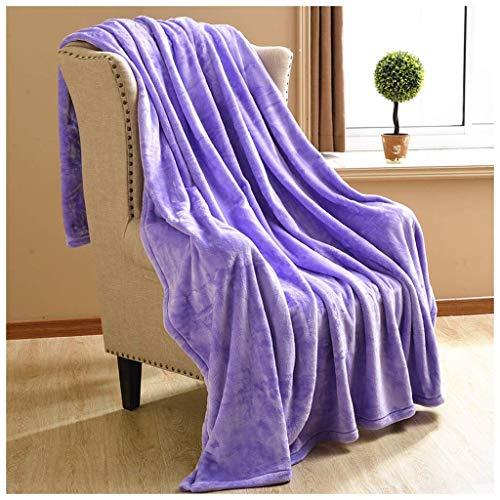 ZXL eenkleurig deken auto knieschaal home quilt verdikking antistatische enkel tweepersoons tweepersoons bed single baby handdoek bekleding decoratief (L: 150,180,200CM B: 200,230CM) beddengoed (kleur: A, maat: