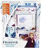 Disney Frozen 2 Scrapbooking Album con Anna ed Elsa, Kit Completo per Bambini con Scrapbooking Accessori, Adesivi, Fogli di Carta, Giochi Creativi, Scrapbooking Fai da Te, Regali di Natale per Bambine