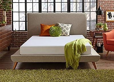 Live & Sleep Classic Twin Mattress - Plush Memory Foam Mattress in a Box - Cool Bed in a Box - Firm Support - Bonus Foam Pillow - CertiPUR Certified Ð 10 Year Warranty - Twin Size