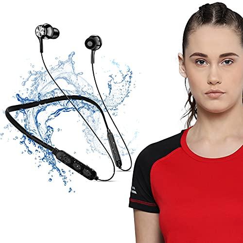 Bluetooth 5.0 Wireless Headphones with Hi-Fi Stereo Sound, 8Hrs Playtime, Lightweight Ergonomic...