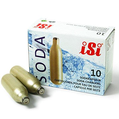 ISI Sparklets Soda Siphon–Fall von 360  8g CO2sowie Hähne ohne Gewinde Ladegeräte für Soda Siphons, Soda Ladegeräte, Gas Lampen für Isi Soda Syphons