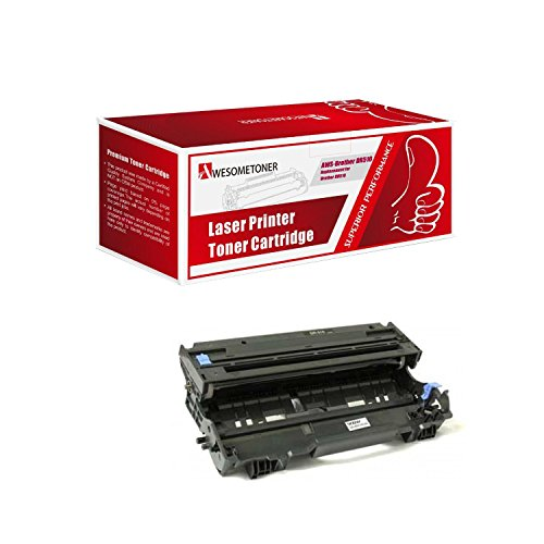 Awesometoner Compatible Drum Cartridge Replacement for Brother DR510 use with HL-5140, 5150D, 5150DLT, 5170DN, 5170DLT, MFC-8220, 8440, 8840D, 8840DN, DCP-8040, 8045D (Black, 1-Pack)