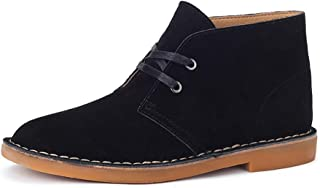 2019 New Arrival Men Boots Oxfords for Men Desert Chukka Boots Shoes Suede Leather Upper Lace Up Wear Resistant Classic Comfortable