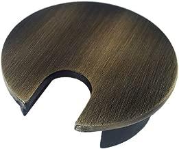 Metal Desk Grommet - Color: Brushed Bronze