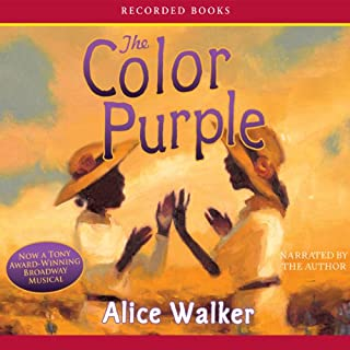The Color Purple audiobook cover art