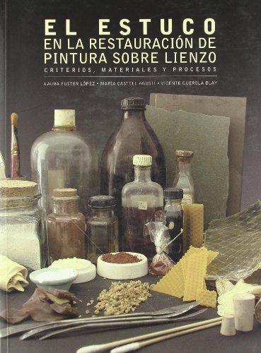 El estuco en la restauración de pinturas sobre lienzo : criterios, materiales y procesos (Académica)