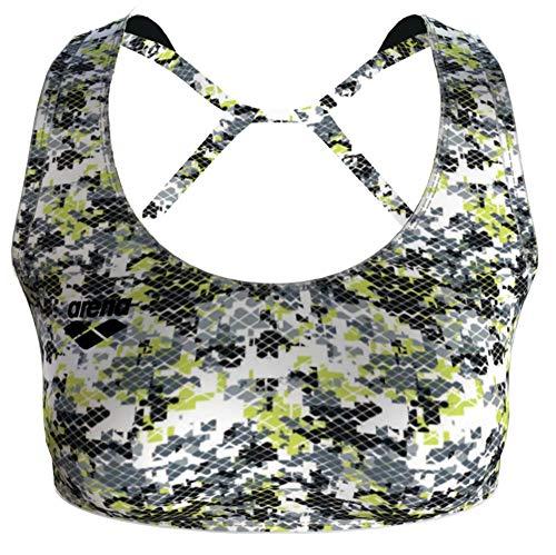ARENA Damen Gym Solid Sport-BH Top - - Large