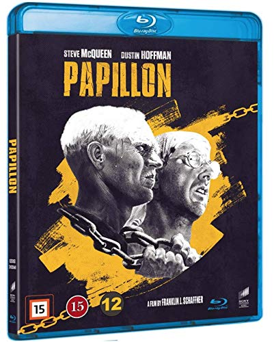 Papillon (Blu-ray) (1973) Dustin Hoffman, Steve McQueen